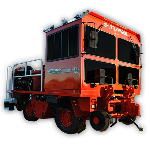 SWX420 Shuttewagon - Flagship Model of the Commander Series - railcar switching service - rail mover - track mobile