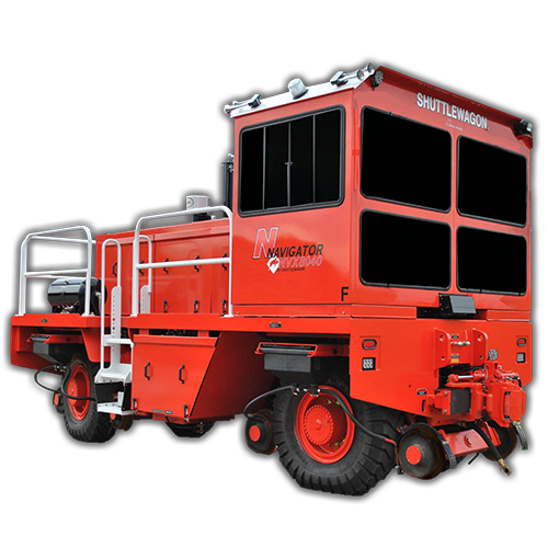 NVX8040 Shuttlewagon - highest capacity mobile railcar mover - railcar mover sales - railway vehicle