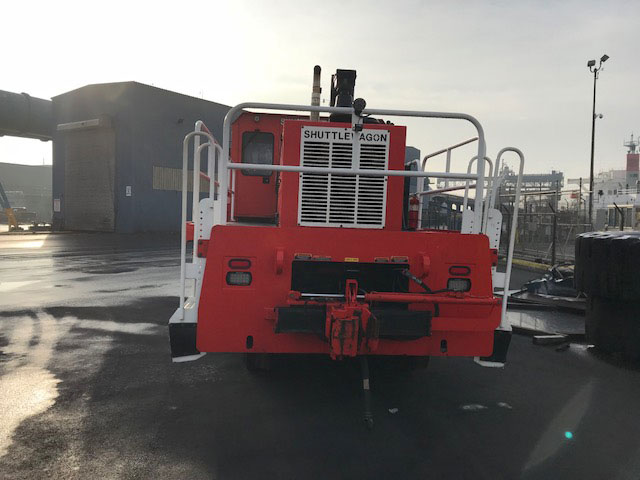 Used Shuttlewagon 2015 SWX840 Cummins Tier 4 Final QSB 300, 60,000lbs Tractive Effort, 1,300 hours