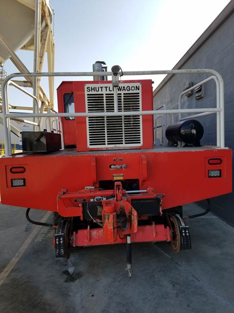Shuttlewagon NVX5025 - Used Machines for Purchase or Rent - mobile railcar mover sales
