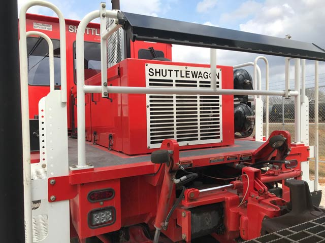 Shuttlewagon SWX420 - Used Machine for sale - mobile railcar movers - railway vehicles for sale - locomotive