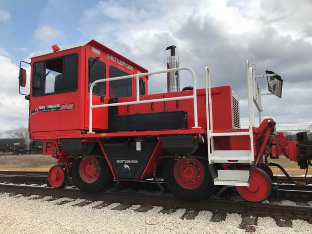Used Machines | Shuttlewagon Mobile Railcar Movers