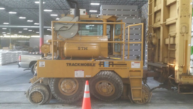 Trackmobile 9TM Reconditioned - Shuttlewagon Used Machines