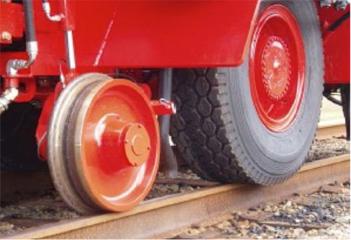 Shuttlewagon Mobile Railcar Movers - Rubber Tires - technology and innovation