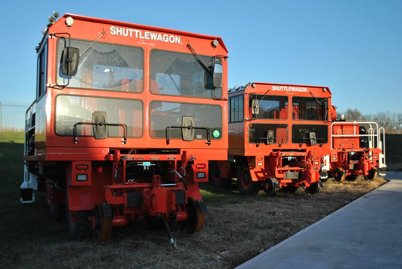 Shuttlewagon Mobile Railcar Movers - Rentals
