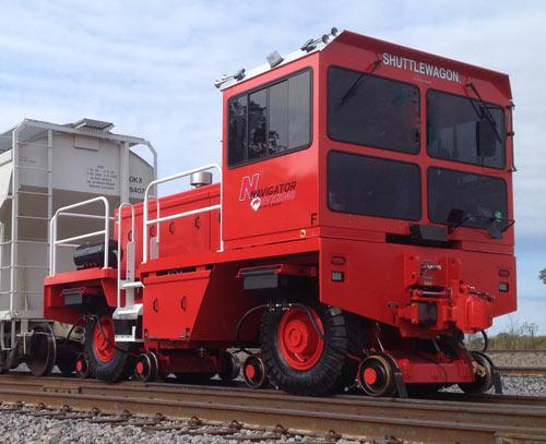 NVX8040 Shuttlewagon Fairmont Minerals OK