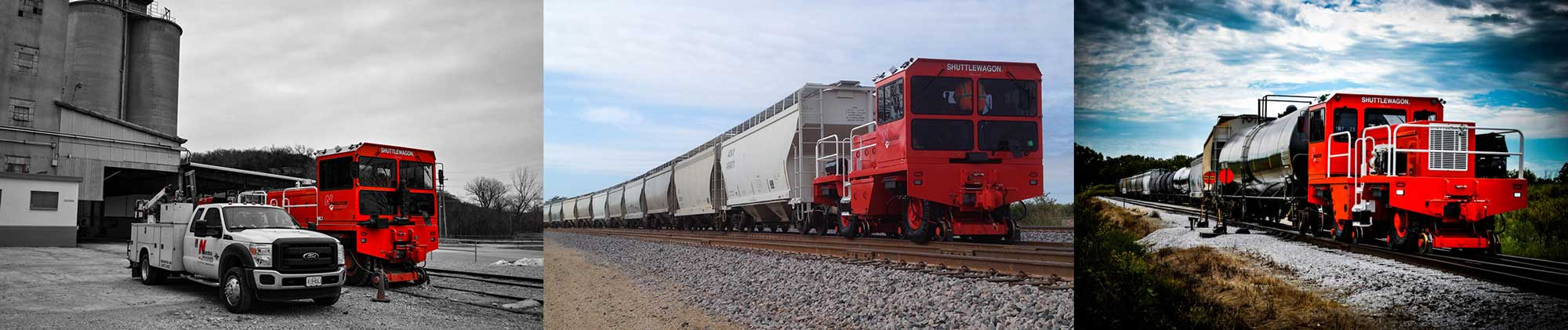 Shuttlewagon Rentals - Rent a Mobile Railcar Mover from us - Nationwide Fleet of mobile railcar movers for rent - trackmobile, railking, switchmaster, navigator, electric series, commander - railway vehicle mover