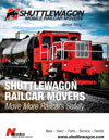 Shuttlewagon Mobile Railcar Movers Product and Services Catalog