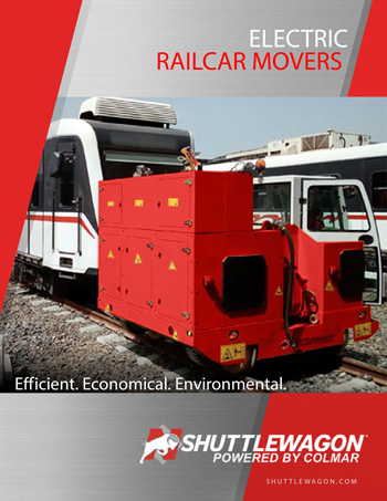 Shuttlewagon electric railcar movers - mobile railcar movers