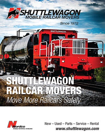 Shuttlewagon mobile railcar movers - equipment product brochure