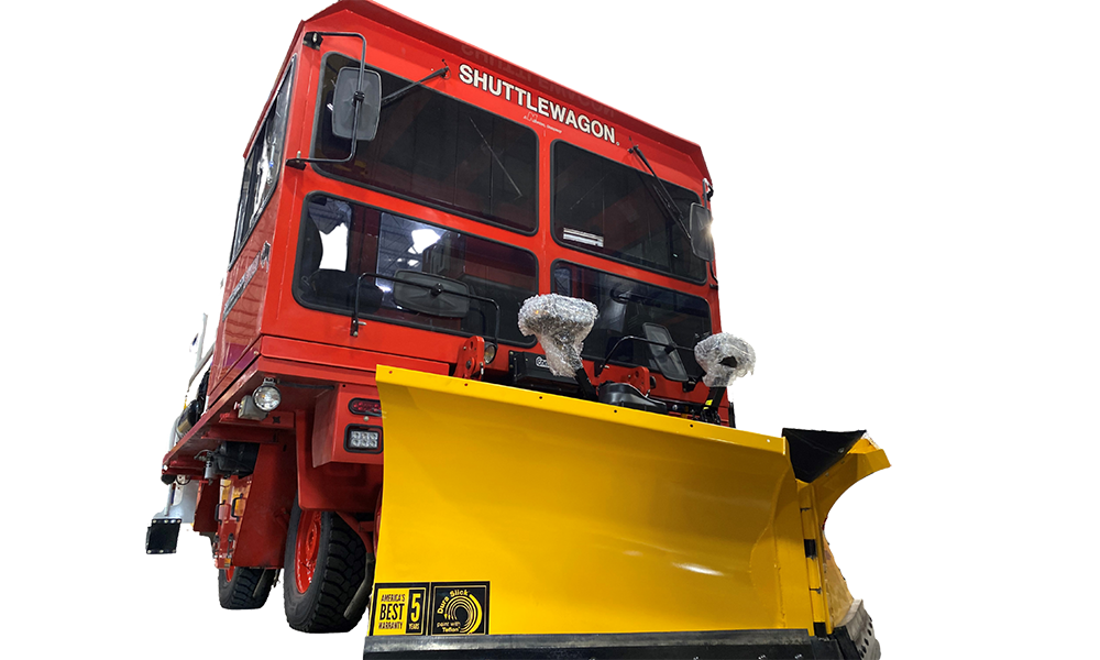 11Shuttlewagon Snow Plow - Mobile Railcar Movers - Shuttlewagon options - customize your railcar mover