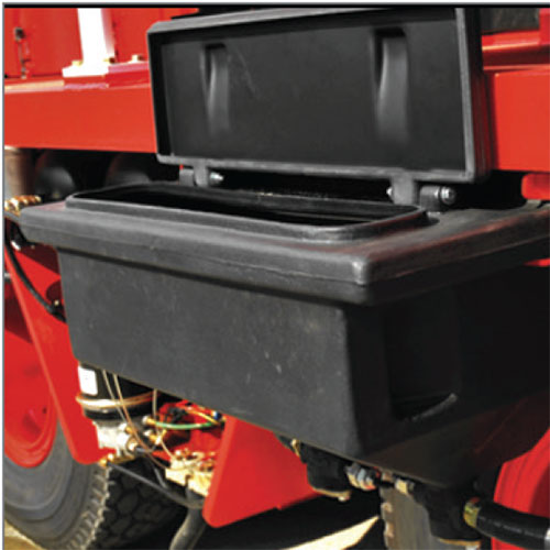 11sander box - shuttlewagon mobile railcar movers - standard features and safety
